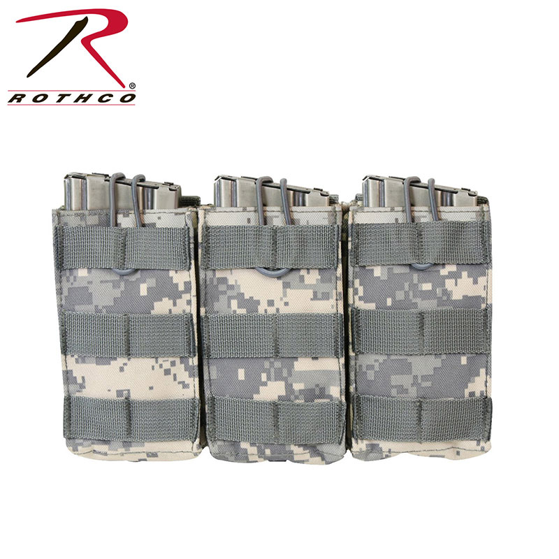 Open Top Triple Mag Pouch - MOLLE