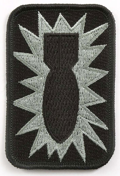 """52nd Ordnance"" Embroidered Patch"