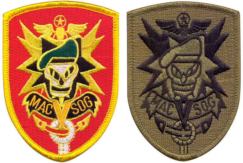 """MAC VIET SOG"" Embroidered Patch"