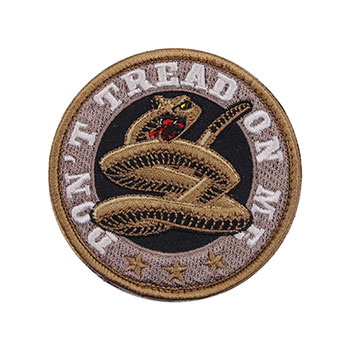 """Don't Tread on Me"" Embroidered Patch"