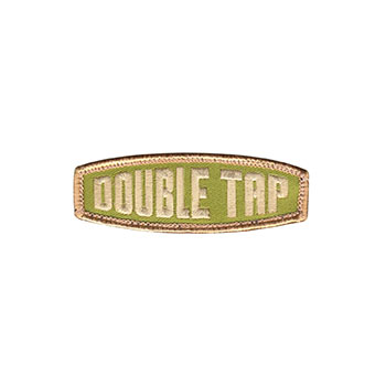 """Double Tap"" Embroidered Patch"