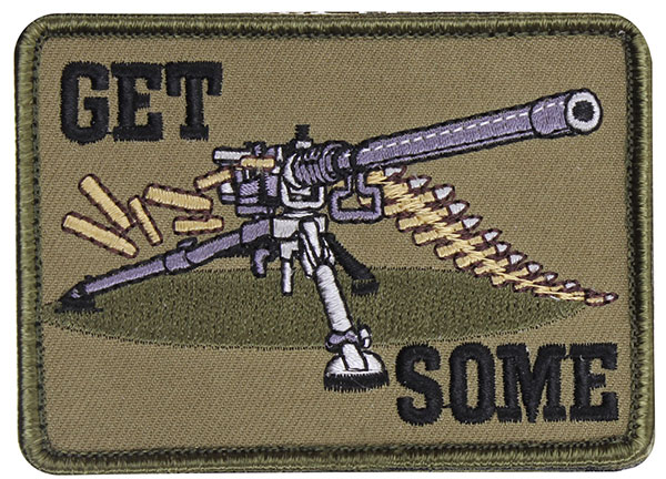 """Get Some"" Embroidered Patch"
