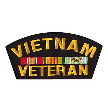 Vietnam Veteran Embroidered Patch
