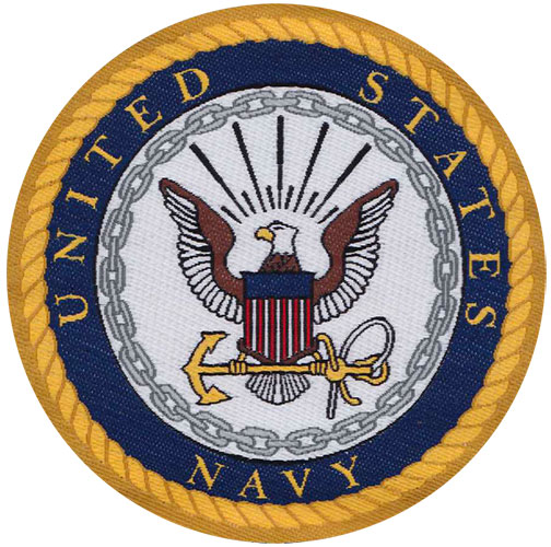 Military Branch Patch - Navy