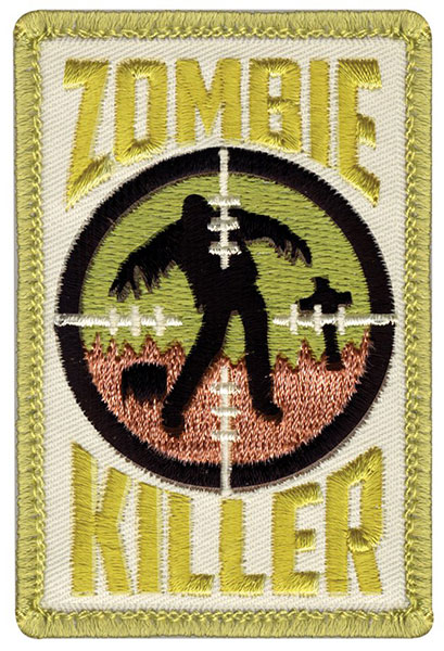 Zombie Killer Embroidered Patch