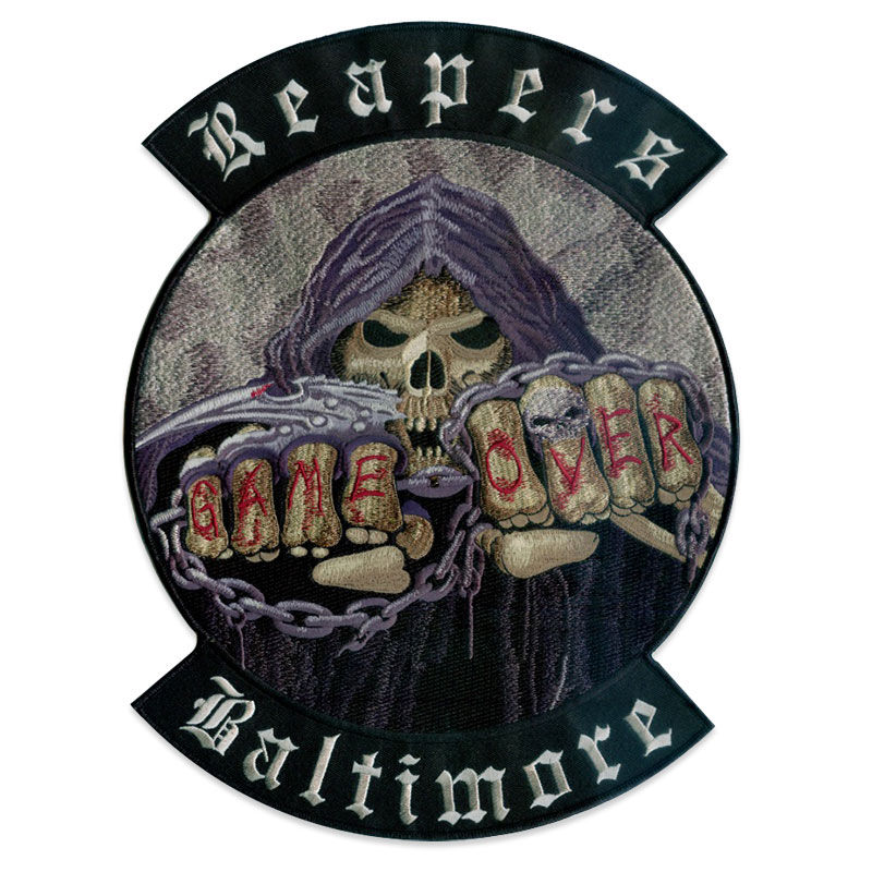 Biker Vest Patches >> Custom Biker Patches